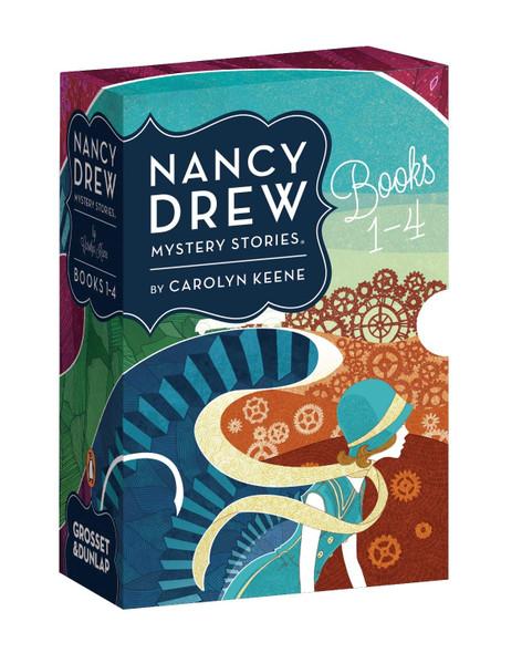 Nancy Drew Mystery Stories Books 1-4 - Cover