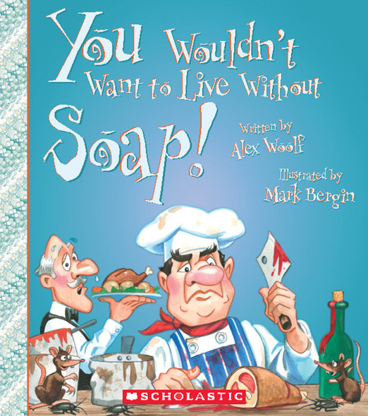 You Wouldn't Want to Live Without Soap! - Cover