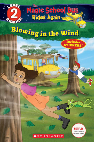 Blowing in the Wind (Magic School Bus Rides Again: Scholastic Reader, Level 2) - Cover
