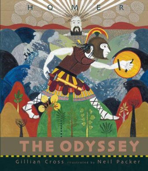 The Odyssey ( Retold by Gillian Cross ) Cover
