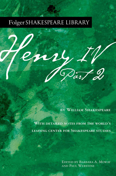 Henry IV, Part 2 - Cover