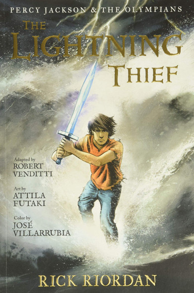 The Lightning Thief: The Graphic Novel - Cover