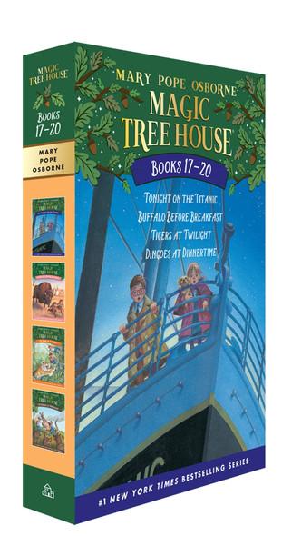 Magic Tree House Books 17-20 Boxed Set - Cover