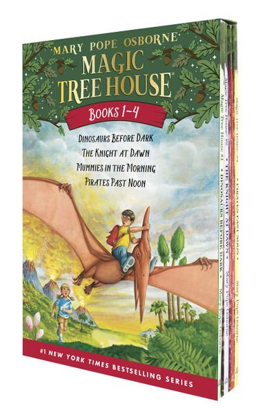 Magic Tree House #1-4 - Cover
