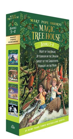 Magic Tree house Books 5-8 Boxed Set - Cover