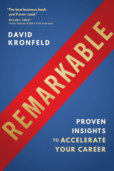 Remarkable: Proven Insights to Accelerate Your Career - Cover