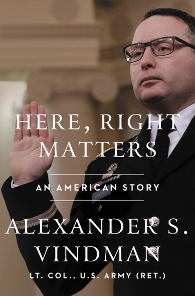 Here, Right Matters: An American Story - Cover