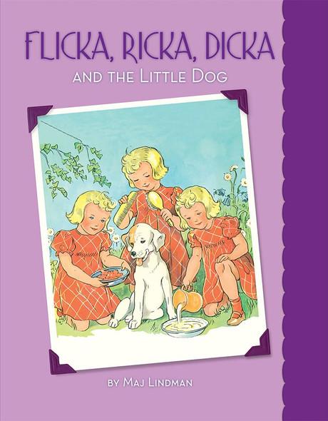 Flicka, Ricka, Dicka and the Little Dog - Cover