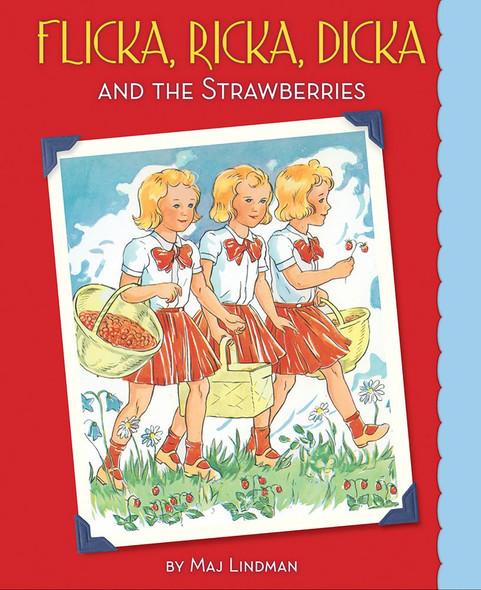Flicka, Ricka, Dicka and the Strawberries - Cover