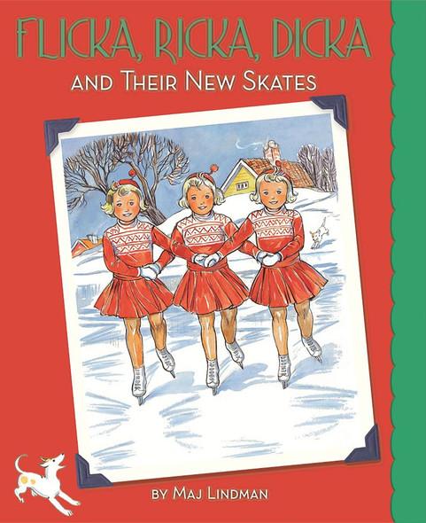 Flicka, Ricka, Dicka and Their New Skates - Cover