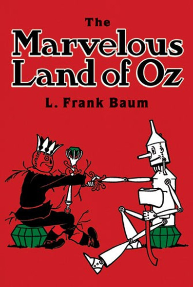 The Marvelous Land of Oz - Cover
