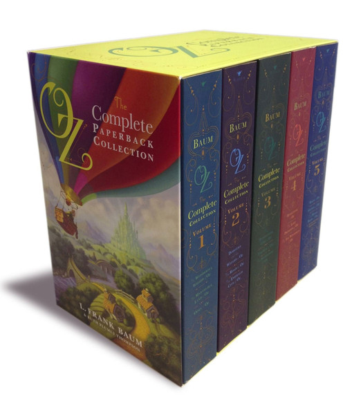 Oz, the Complete Paperback Collection - Cover