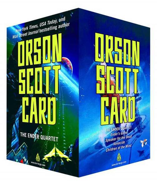 The Ender Quartet Boxed Set - Cover