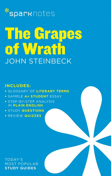 The Grapes of Wrath Sparknotes Literature Guide, 28 - Cover