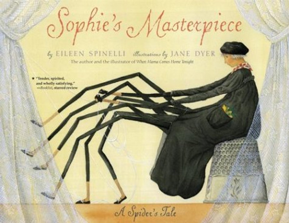 Sophie's Masterpiece: A Spider's Tale - Cover
