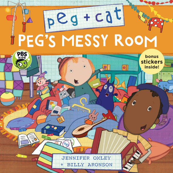 Peg + Cat: Peg's Messy Room - Cover