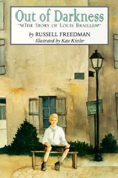 Out of Darkness : The Story of Louis Braille Cover