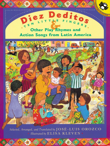 Diez Deditos and Other Play Rhymes and Action Songs from Latin America - Cover