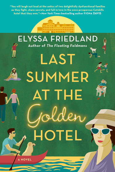 Last Summer at the Golden Hotel - Cover