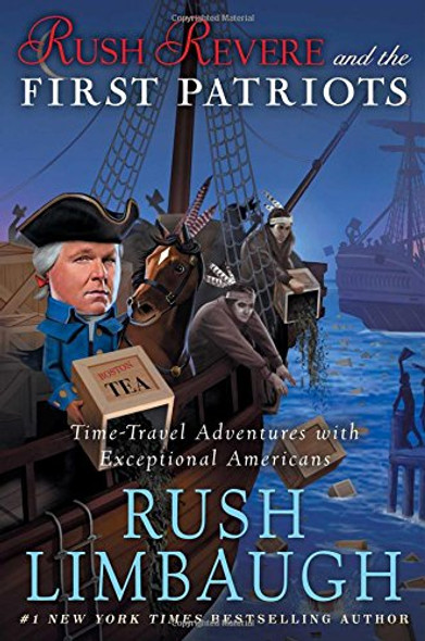 Rush Revere and the First Patriots - Cover