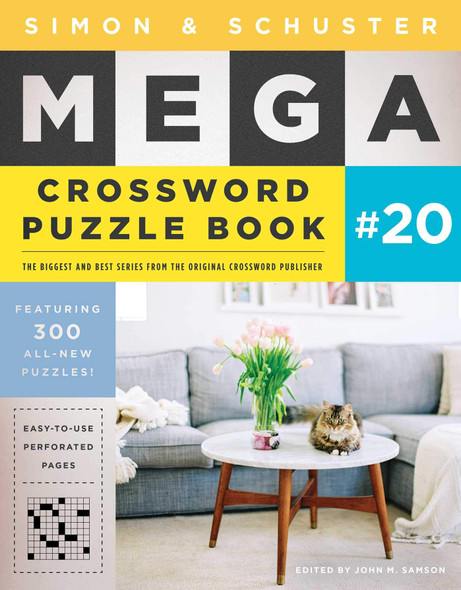 Simon & Schuster Mega Crossword Puzzle Book #20 - Cover