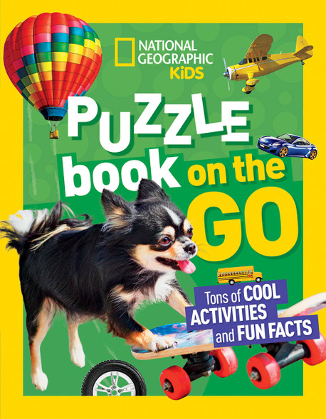 National Geographic Kids Puzzle Book: On the Go - Cover