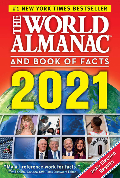 The World Almanac and Book of Facts 2021 - Cover