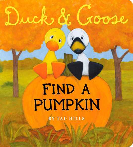Duck & Goose, Find a Pumpkin - Cover