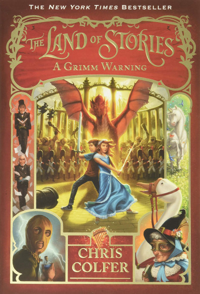 The Land of Stories: A Grimm Warning - Cover