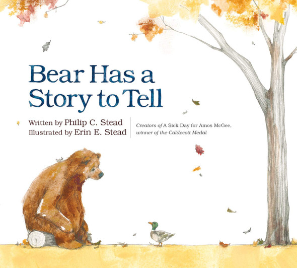 Bear Has a Story to Tell - Cover