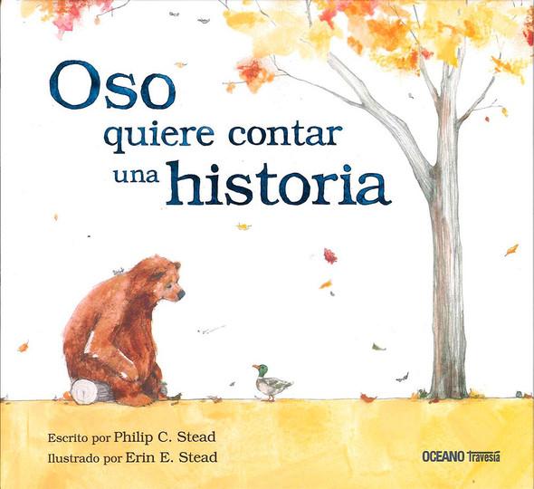 Oso Quiere Contar Una Historia - Cover
