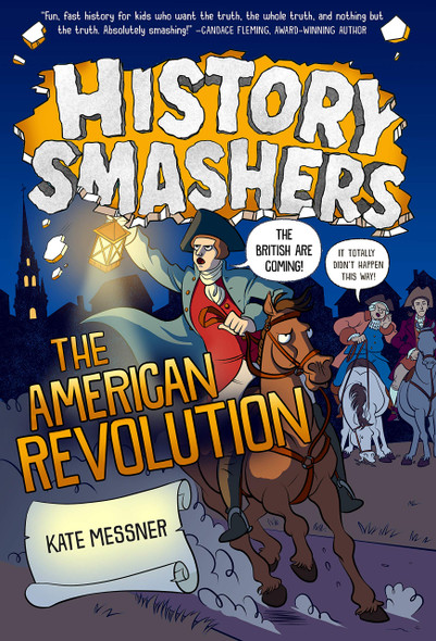 History Smashers: The American Revolution - Cover