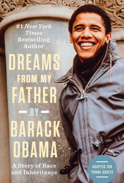 Dreams from My Father (Adapted for Young Adults): A Story of Race and Inheritance - Cover