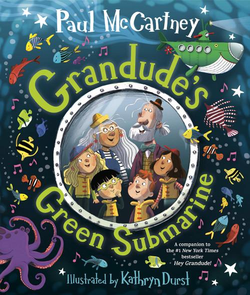 Grandude's Green Submarine - Cover