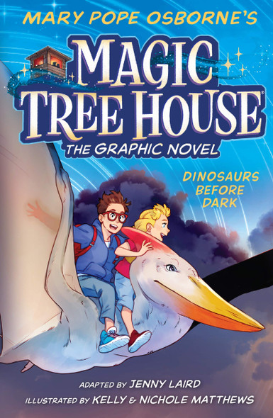 Dinosaurs Before Dark Graphic Novel - Cover