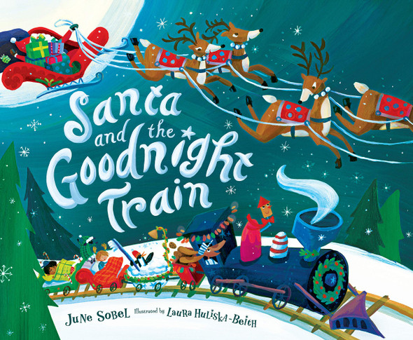 Santa and the Goodnight Train - Cover