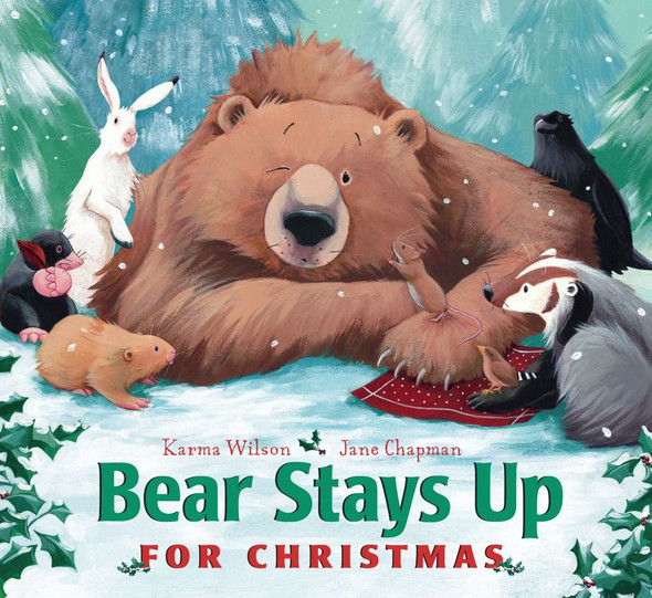 Bear Stays Up for Christmas - Cover