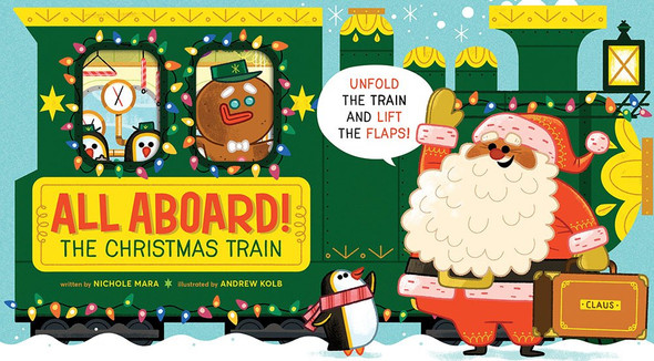 All Aboard! the Christmas Train - Cover