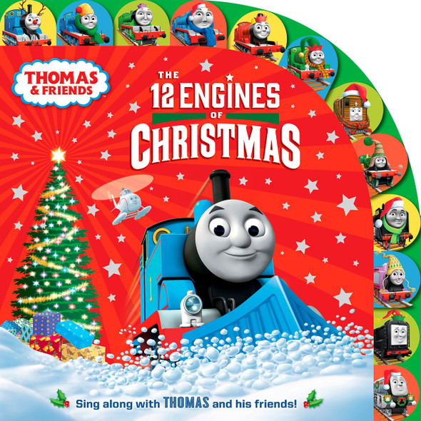The 12 Engines of Christmas - Cover
