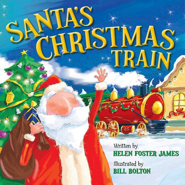 Santa's Christmas Train - Cover
