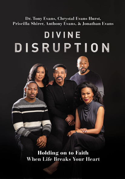 Divine Disruption: Holding on to Faith When Life Breaks Your Heart - Cover