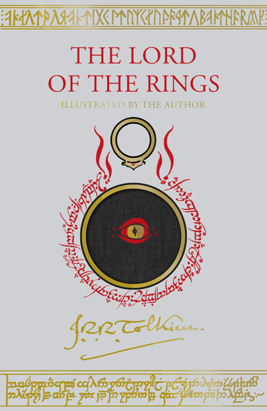 The Lord of the Rings Illustrated Edition - Cover