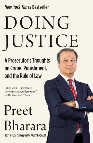 Doing Justice: A Prosecutor's Thoughts on Crime, Punishment, and the Rule of Law - Cover