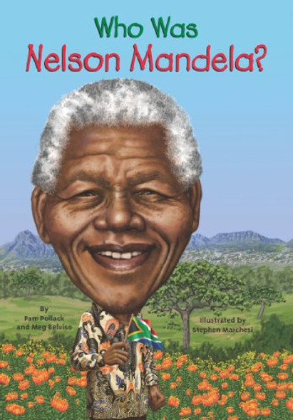 Who was Nelson Mandela? Cover