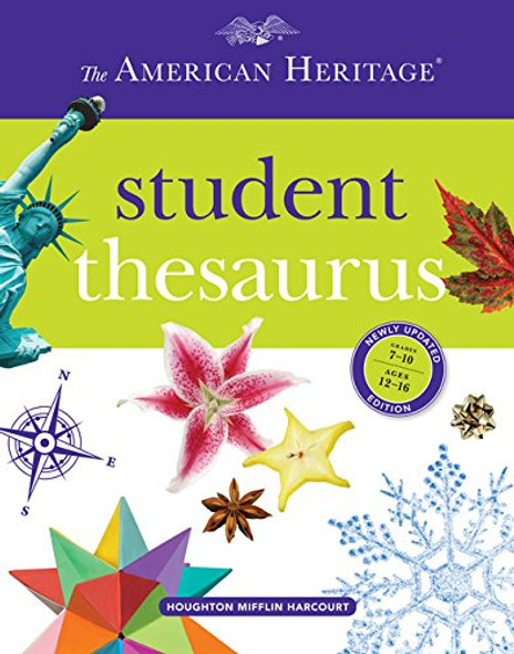 The American Heritage Student Thesaurus Cover