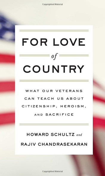 For Love of Country: What Our Veterans Can Teach Us about Citizenship, Heroism, and Sacrifice Cover