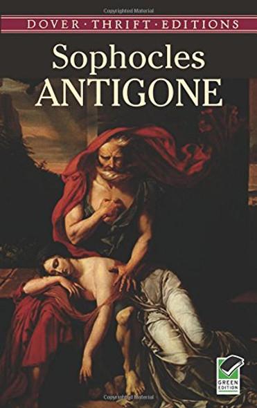 Antigone (Dover Thrift Editions) Cover