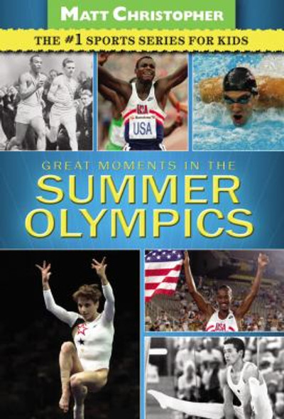 Greatest Moments in the Summer Olympics Cover