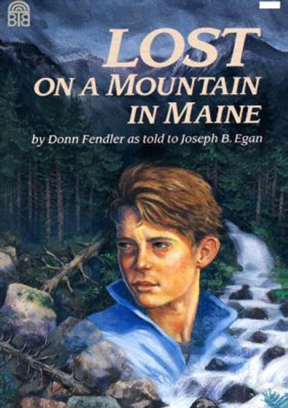 Lost on a Mountain in Maine Cover