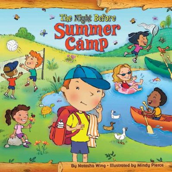 The Night Before Summer Camp Cover